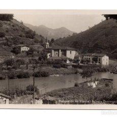 Postales: ALZOLA. PAIS VASCO.- BALNEARIO DE ALZOLA IGLESIA PARROQUIAL.- FOTOGRAFICA. Lote 104619683