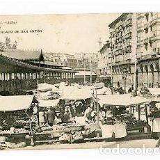 Postales: BILBAO MERCADO DE SAN ANTON ED. G.L. SIN CIRCULAR. Lote 104667299
