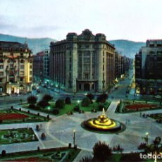 Postales: BILBAO -PLAZA DE FEDERICO MOYUA- (DOMINGUEZ Nº 41) SIN CIRCULAR / P-1316. Lote 105453623