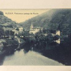 Postales: ANTIGUA POSTAL ALZOLA. PINTORESCO PAISAJE DE ALZOLA. FOTOTIPIA THOMAS.. Lote 105571779