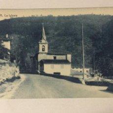 Postales: ANTIGUA POSTAL ALZOLA. LA IGLESIA. FOTOTIPIA THOMAS. SIN CIRCULAR.. Lote 105572279