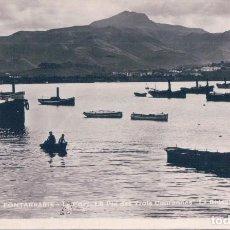 Postales: POSTAL FOTOGRAFICA - FONTARRABIE - LE PORT LE PIO DES TROIS COURONNES - LA BIDASOA - TITO - CIRCULAD. Lote 105604575