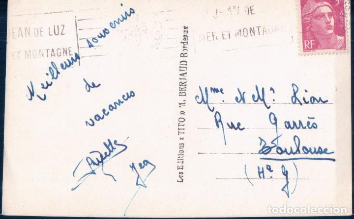Postales: POSTAL FOTOGRAFICA - FONTARRABIE - LE PORT LE PIO DES TROIS COURONNES - LA BIDASOA - TITO - CIRCULAD - Foto 2 - 105604575