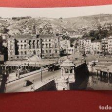 Postales: POSTAL DE BILBAO, PUENTE GENERAL MOLA Y AYUNTAMIENTO. Lote 105609023