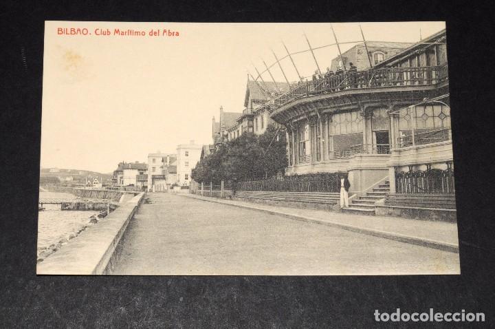 BILBAO. CLUB MARÍTIMO DEL ABRA (Postales - España - País Vasco Moderna (desde 1940))