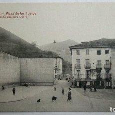 Postales: POSTAL ELGOIBAR - PLAZA DE LOS FUEROS, EDICION CASIMIRO OSORO, SIN CIRCULAR.. Lote 105684559
