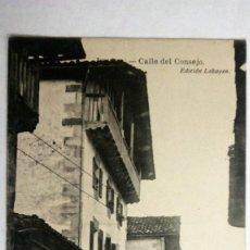 Postales: POSTAL ITUREN, CALLE DEL CONSEJO, EDICION LABAYEN. SIN CIRCULAR.. Lote 105686955