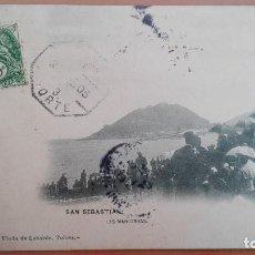 Postales: POSTAL SAN SEBASTIAN LAS MANIOBRAS MILITARES MONARQUIA EDI VIUDA LABORDE TOLOSA GUIPUZCOA PAIS VASCO. Lote 105812007