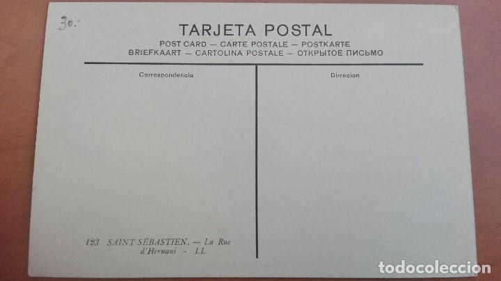 Postales: POSTAL SAN SEBASTIAN Nº 123 CALLE DE HERNANI EDIC L.L. GUIPUZCOA PAIS VASCO PERFECT CONSERVACION - Foto 2 - 106146243