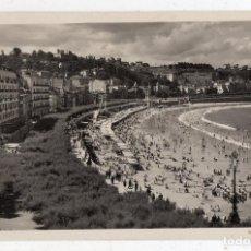 Postales: SAN SEBASTIÁN. PASEO Y PLAYA DE LA CONCHA. ESCRITA EL 23 DE AGOSTO DE 1949.. Lote 106570151