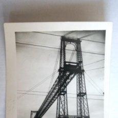 Postales: POSTAL BILBAO, LAS ARENAS, PUENTE VIZCAYA, CIRCULADA AÑO 1953. Lote 107191431