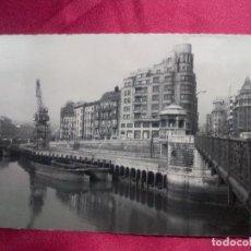 Postales: TARJETA POSTAL. 16. BILBAO. MUELLE DE RIPA. GARRABELLA. Lote 107262219