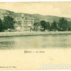 Postkarten - BILBAO LA SALVE ED. PAPELERIA VDA Y SOBRINO DE E. VILLAR. REVERSO SIN DIVIDIR. SIN CIRCULAR - 107605375