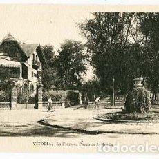 Postales: VITORIA LA FLORIDA PASEO DE LA SENDA. ED.M. ARRIBAS. SIN CIRCULAR. Lote 108000291