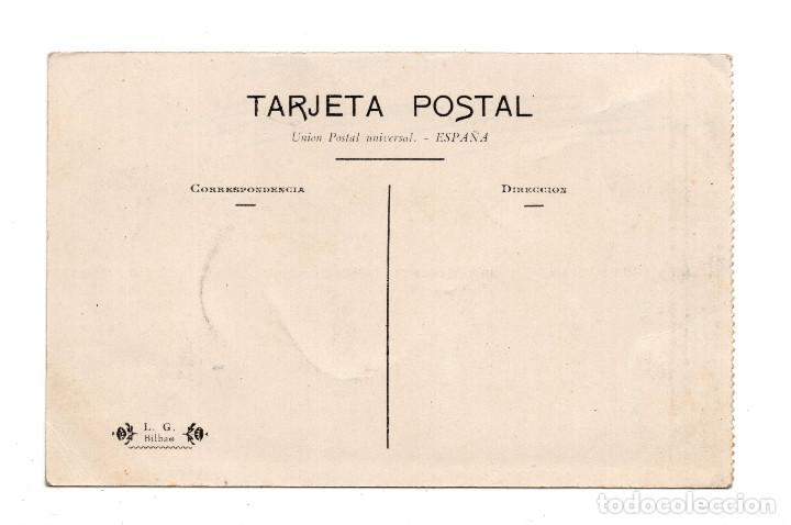 Postales: TARJETA POSTAL DE PORTUGALETE Y PUENTE VIZCAYA. L. G. BILBAO - Foto 2 - 108269375