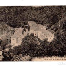 Postales: URBERUAGA (VIZCAYA). URBERNAGA VISTA GENERAL BALNEARIO. PROPIEDAD DE CAFERINO SARASQUEDA.. Lote 108838607