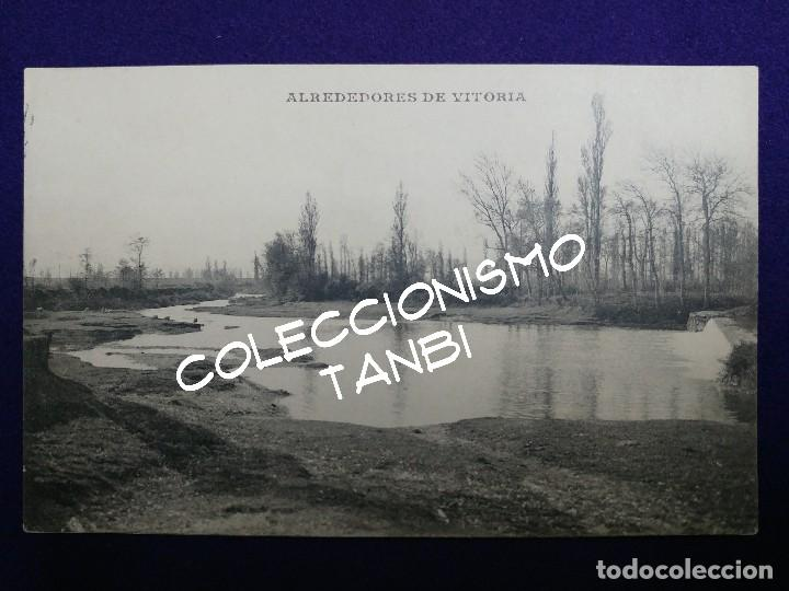 POSTAL DE ALREDEDORES DE VITORIA (ALAVA). AÑO 1910-1915. RUIZ Y EGUILUZ. (Postales - España - Pais Vasco Antigua (hasta 1939))