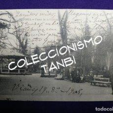 Postales: POSTAL DEL PASEO DE LA FLORIDA. VITORIA (ALAVA). AÑO 1904- 1905. EJG- LARRAÑAGA... Lote 109818835