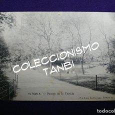 Postales: POSTAL VITORIA (ALAVA). PASEOS DE LA FLORIDA. AÑO 1904 - 1905. EJG- LARRAÑAGA.. Lote 109819227