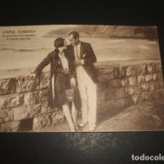 Postales: FATAL DOMINIO POSTAL PELICULA SAN SEBASTIAN Y BILBAO OMNIA FILM PRODUCTORA AÑOS 30. Lote 109973655
