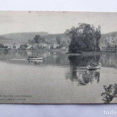 Postales: POSTAL IRÚN - ISLA DE LOS FAISANES - HAUSER Y MENET Nº 1528 - REVERSO SIN DIVIDIR. Lote 110037179