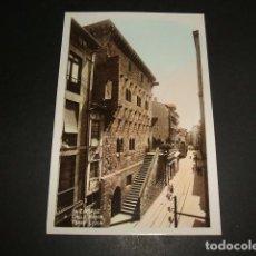 Postales: ZARAUZ GUIPUZCOA CALLE MAYOR TORRE LUZEA. Lote 110065455