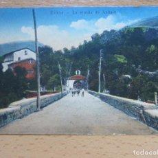 Postales: EIBAR. LA ERMITA DE AZITAIN. (TIP. POPULAR EIBARRESA).. Lote 110212167