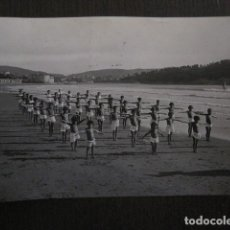 Postales: SANATORIO MARINO DE GORLIZ - VIZCAYA -POSTAL ANTIGUA FOTOGRAFICA -VER FOTOS-(51.546). Lote 110234859