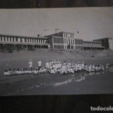Postales: SANATORIO MARINO DE GORLIZ - VIZCAYA -POSTAL ANTIGUA FOTOGRAFICA -VER FOTOS-(51.547). Lote 110235027
