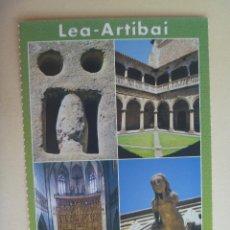 Postales: POSTAL DEL PAIS VASCO , VASCONGADAS : LEA - ARTIBAI.. Lote 110715603
