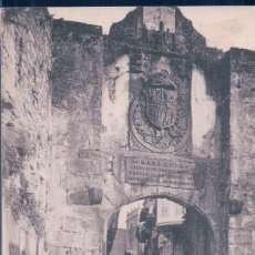Postales: POSTAL FUENTERRABIA - PUERTA PRINCIPAL - TIBURCIO BERROTARAN. Lote 110748111