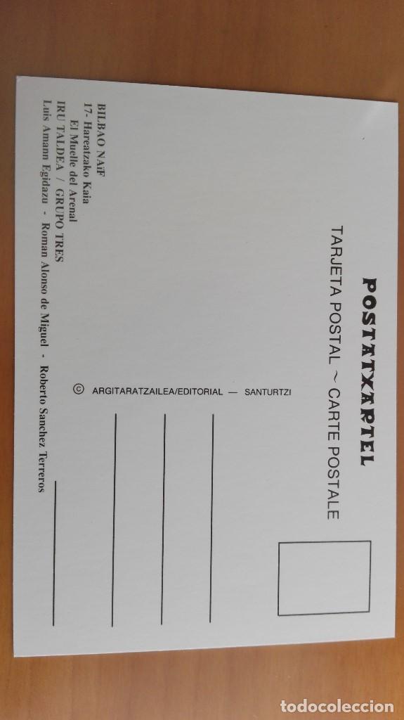 Postales: POSTAL NAIF BILBAO Nº 17 MUELLE DEL ARENAL SENDEJA RIPA DESCARGA BACALAO PERFECTA VIZCAYA PAIS VASCO - Foto 2 - 110889859