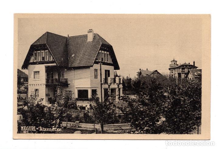 NEGURI.- BILBAO - ATXENETXE (Postales - España - Pais Vasco Antigua (hasta 1939))