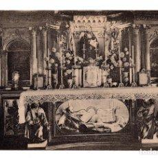 Postales: SAN IGNACIO DE LOYOLA CAPILLA DE LA CONVENCIÓN. ALTAR Y URNA . FOT. I. BARRADO.HAUSER Y MENET. Lote 111377955