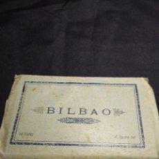 Postales: BILBAO ANTERIOR A 1939. ALBUM ACORDEON POSTALES ANTIGUAS. Lote 111554955