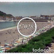 Postales: SAN SEBASTIAN Nº 70 PLAYA DE LA CONCHA - E LUJO - ESCRITA AL DORSO - COLOREADA. Lote 111609355