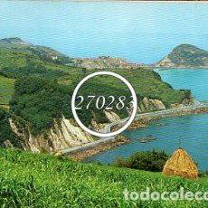 Postales: GUETARIA (GUIPUZCOA) Nº 1 VISTA PANORAMICA - GARRABELLA- SIN CIRCULAR - AÑO 1964. Lote 111613247
