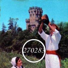 Postales: BUTRON (VIZCAYA) Nº 2001 CASTILLO DE BUTRON - E SENDO - ESCRITA AL DORSO - AÑO 1964. Lote 111692371
