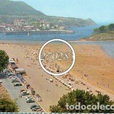 Postales: LEQUEITIO (VIZCAYA) Nº 3 PLAYA DE CARRASPIO - GARRABELLA - SIN CIRCULAR - AÑO 1964. Lote 111693615