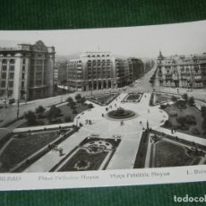 Postales: BILBAO - PLAZA FEDERICO MOYA. FOTO L. ROISIN NUM 524 - NO ESCRITA, NO CIRCULADA. Lote 112364507