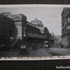 Postales: BILBAO - POSTAL PROTOTIPO ARCHIVO FOTOGRAFICO ROISIN - FOTO PEGADA-VER FOTOS-(52.055). Lote 112921439
