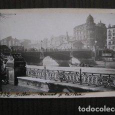 Postales: BILBAO - POSTAL PROTOTIPO ARCHIVO FOTOGRAFICO ROISIN - FOTO PEGADA-VER FOTOS-(52.056). Lote 112921503