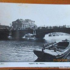 Postales: BILBAO -PUENTE DEL ARENAL-1932. Lote 113076075