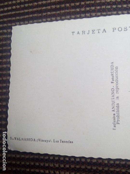 Postales: Valmaseda tarjeta postal n°9 las tenerfas - foto rueda sin escribir y muy escasa - Foto 5 - 114003855