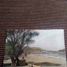 Postales: LEQUEITIO TARJETA POSTAL N°8 PLAYA DE CARRASPIO - GARCIA GARRABELLA . Lote 114004883