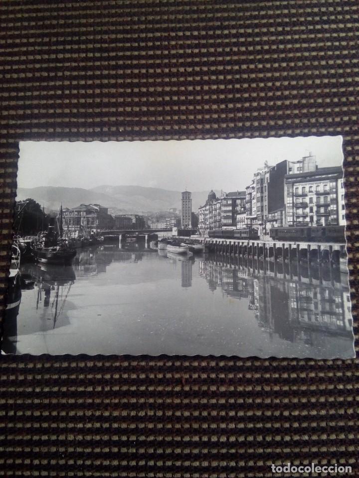 BILBAO TARJETA POSTAL N°92 MUELLE DE RIPA DE GARCIA GARRABELLA NUNCA ESCRITA (Postales - España - País Vasco Moderna (desde 1940))