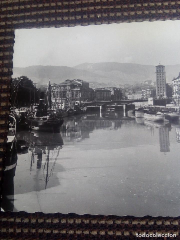 Postales: Bilbao tarjeta postal n°92 muelle de ripa de garcia garrabella nunca escrita - Foto 2 - 114009419