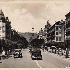 Postales: SAN SEBASTIÁN (GUIPUZCOA).- VISTA DESDE EL MONTE IGUELDO. Lote 114971555