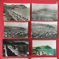 Postales: OFERTA! 8 POSTALES DIFERENTES - SAN SEBASTIAN - AÑOS 60 - 7 BLANCO Y NEGRO + 1 COLOREADA... R-8613. Lote 114981543
