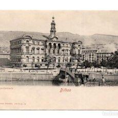Postales: BILBAO.- AYUNTAMIENTO, ROMMLER & JONAS, NO CIRCULADA. Lote 115141007